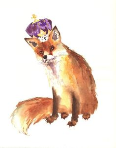 """King of Fox Hollow"" -  by Alison Fennell"