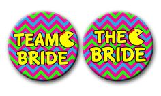 The Bachelorette Party Favors 80's Theme Team by PutOnYourPartyCap