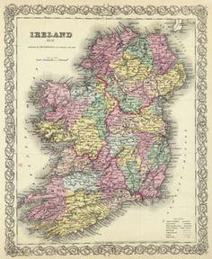 ireland map anyone?
