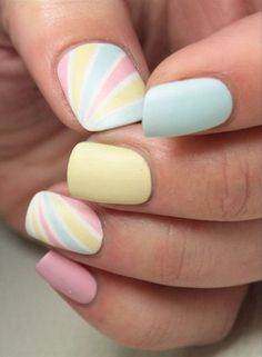 95 Inspirational Pastel Nail Art Color, Pastel Color Nail Art … Pastel Nails, 55 Green Nail Art Designs Nenuno Creative, Nail Art Cool Designs to Do at Home Simple Nails Flower, Nails Summer 2019 – Design Ideas Trendy Colors and Patterns. Pastel Color Nails, Spring Nail Colors, Spring Nails, Summer Nails, Pastel Colours, Winter Nails, Rose Nail Art, Rose Nails, Rainbow Nail Art Designs