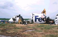 727 FED EX crash!