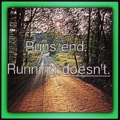 Run if you are able..