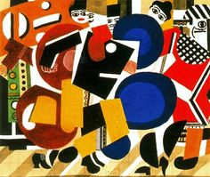 Skating Rink drawing of the curtain of scene, 1921 - Fernand Leger Pablo Picasso, Giacomo Balla, Georges Braque, Skating Rink, Arte Pop, Art Database, French Artists, Art Plastique, Tinkerbell