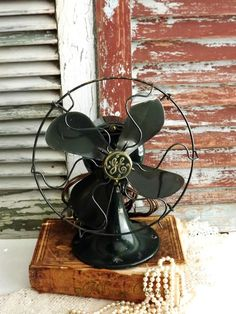 Antique Electric GE Fan by avintageobsession by AVintageObsession, $89.00