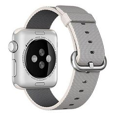 Apple Watch band Oitom Woven Nylon Watch Band Strap (Pearl Apple Watch 38mm)