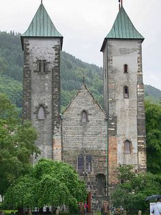St Mary's Church - 12th century - Bergen, Norway