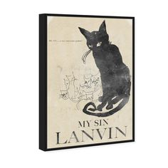 My Sin Picture Frame Sizes, Picture Frames, Black And Brown, All Black Cat, High Contrast, Cat Design, Framed Prints, Fine Art Prints, Vignettes