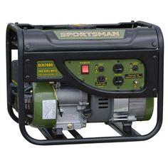 Sportsman 1,400-Watt Gasoline Powered Portable Generator-801309 - The Home Depot