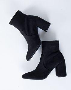Versatile Sock Boots l @2020AVE #blackboots #sockboots