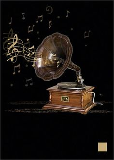 BugArt Jewels ~ Gramophone. JEWELS Designed by Jane Crowther.