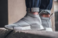 "On-Foot: adidas NMD_CS1 Primeknit ""White/Grey"" - EU Kicks: Sneaker Magazine"