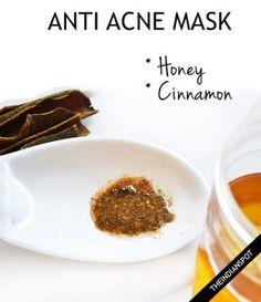 Honey Cinnamon Anti Acne Mask