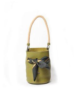 Hermès Olive Bucket Bag