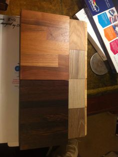 Wood countertops and engineered wood flooring options