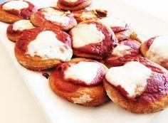 Denny Chef Blog: Pizzette da aperitivo con farina integrale
