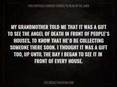 Most Terrifying Two Sentence Horror Stories