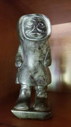 Past life soapstone  carving by DJ HOLDEN