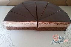 Šlehačkový pařížsky dort - FOTOPOSTUP | NejRecept.cz Cheese, Food, Essen, Meals, Yemek, Eten