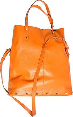 #Inc #International #Concepts Tara Leather #Tote Orange Inc. International Concepts http://www.amazon.com/dp/B00N7VWHQ4/ref=cm_sw_r_pi_dp_izsbub1GF46HH