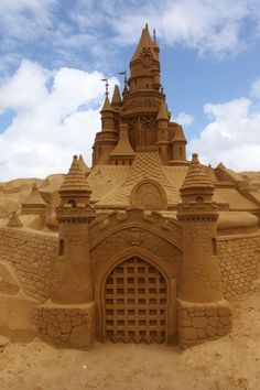 Blankenberge Sand Sculpture…now THAT'S a sandcastle!!