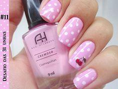 Cute Cherry Nails