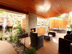 Perfect Tasmanian outdoor area.