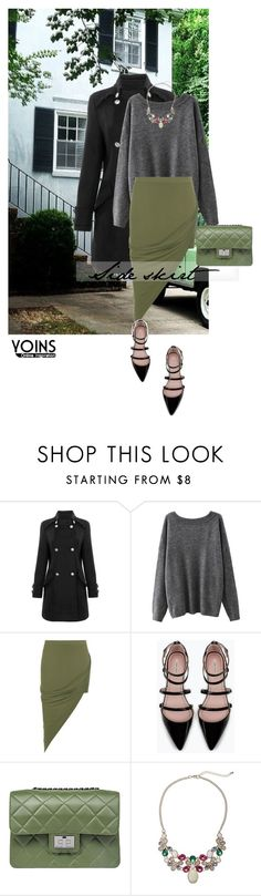 """""""Yoins 6/10"""" by mell-2405 ❤ liked on Polyvore featuring WearAll, Zara, Design Inverso and yoins"""