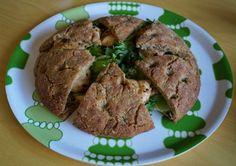 FODMAP-keittiöni: Hiivaton tattarifocaccia kana-fetatäytteellä