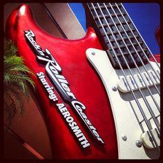 Rock n Roller Coaster at Hollywood Studios Disney World !