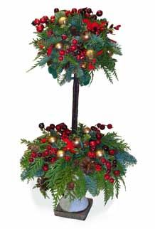 Christmas Topiary Decor.60 Best Christmas Tree Topiaries Images Christmas