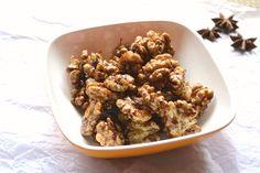 Honey Glazed Spiced Walnut