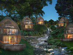Tree Pool Houses, Keemala, Phuket, Thailand