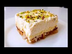 Sweet with vanilla cream and rusks! Greek Desserts, Greek Recipes, Easy Desserts, Vanilla Cream, Sweet Treats, Cheesecake, Sweets, Foods, Treats