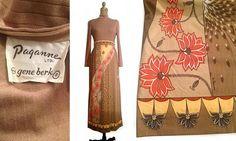 Vtg. 1960s Paganne By Gene Berk Signed MOD Maxi Dress- Sz8 by VintageTreasures01, $93.75 USD