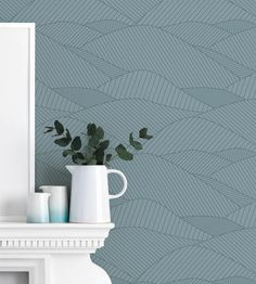 South Downs Wallpaper by Bold And Noble   Jane Clayton