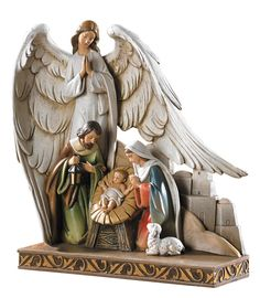 CB Gift TC616 Nativity Angel Figurine, 8' ^^ New offers awaiting you  : Collectible Figurines for Christmas