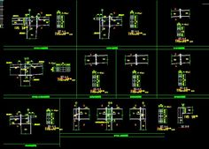 CAD Library-AutoCAD Blocks & Drawings : ★【Steel Structure Details 1】★