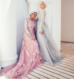 Feeeeya + mariaalia Check out our amazing collection of hijabs at www. Islamic Fashion, Muslim Fashion, Modest Fashion, Hijab Fashion, Fashion Outfits, Turban, Muslim Wedding Dresses, Eid Dresses, Dress Wedding