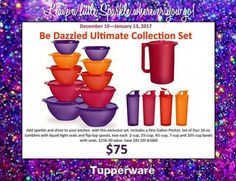 A good set of Tupperware for all your gathering needs