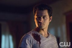 """The Vampire Diaries -- """"No Exit"""" -- Image Number: -- Pictured: Michael Malarkey as Enzo -- Photo: Bob Mahoney/The CW -- © 2014 The CW Network, LLC. All rights reserved Season 5 Episode 14 Vampire Diaries Stefan, Vampire Diaries Spoilers, Vampire Diaries Season 5, Vampire Diaries Quotes, Vampire Diaries Cast, Vampire Diaries The Originals, Katerina Graham, Michael Malarkey, Bonnie Bennett"""