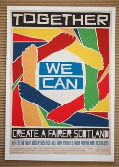 Together we can create a fairer Scotland