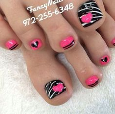 Red Toe Nail Designs – Top 32 Trends 2017-2018