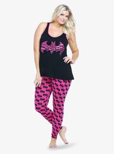 Na na na na na na...so cute! Batman pajamas. Obsessed. #HaveATorridAffair