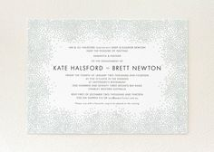 Simple and Classy wedding invitation