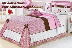 Maravilhosa ♥♥♥♥ Bed Cover Design, E Room, Bedclothes, Bed Styling, Sofa Pillows, Beautiful Bedrooms, Bed Covers, Soft Furnishings, Home Textile