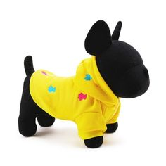 Gold Wing Hoodie Pet Clothes Dog Sweater Puppy Sweatshirt Warm Small Coat * To view further for this item, visit the image link. (This is an affiliate link and I receive a commission for the sales) #PetDogs