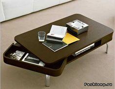Необычные столы / журнальный столик трансформер