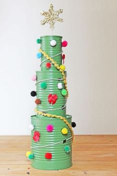 If you are looking for some tacky Christmas party ideas, you're at the right place. We've got some fantastic tacky Christmas party ideas for you! Tacky Christmas Party, Christmas Crafts For Kids, Christmas Projects, Diy Crafts For Kids, Holiday Crafts, Christmas Holidays, Christmas Trees, Recycled Christmas Tree, Craft Ideas