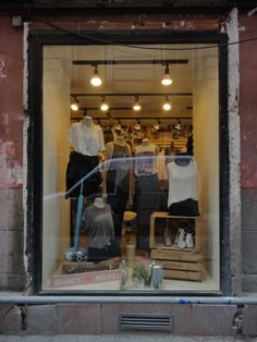 Brandy Melville store in Madrid