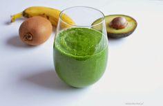 Nina w kuchni: Zielony koktajl z kiwi, awokado i szpinaku Kiwi, Cantaloupe, Fruit, Food, Meal, Hoods, Eten, Meals